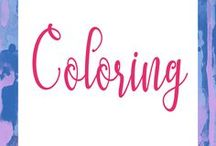 Coloring / coloring pages, coloring books and more