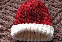 Hats / mutsen breien / by Natasja Den Blaauwen