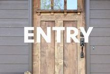 Entry / Southern hospitality is still alive and well. We love making our guests feel welcomed. Our favorite front doors, foyers and entrances.