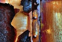 Rust, and Rustic and industrial art and design