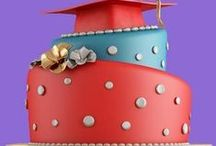 Graduation Party Ideas for Homeschool / Celebration ideas for homeschool graduation ceremonies and parties: food, menus, tablescapes, decorating, programs, themes, activities, and invitations.