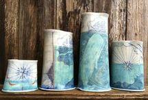 Ceramic Art - Vases, candle holders,..