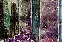 Gemstones and geological art