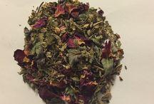 Om örter, oljor, växter / About herbs, oils and plants
