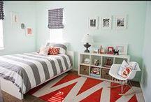 Chambre d'ado   MAISON FACILE / Inspiration déco pour meubler les chambres de nos ados. Pour plus d'idées déco rendez-vous sur www.maison-facile.com #meubles #ados #chambre #homedecor