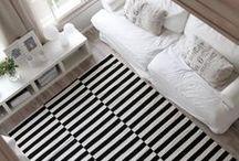 Déco Rayures   INSPIRATION / #stripes #deco #furniture Retrouvez plus d'idées déco sur http://www.maison-facile.com/