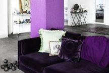 Déco Violette   INSPIRATION / Retrouvez plus d'idées déco violette sur www.maison-facile.com. #purple #violet #lavande #homedecor #deco #furniture