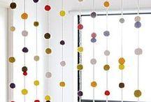Déco Pois   INSPIRATION / #pois #polka #dot #design #homedecor Retrouvez plus d'idées sur http://www.maison-facile.com/