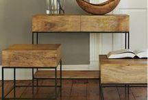 Du bois dans la maison   MAISON FACILE / Noble, élégant et chaleureux le bois est une valeur sûre pour nos intérieurs. Retrouvez de nombreuses idées déco et tous nos meubles en bois sur www.maison-facile.com . #wood #bois #meuble #homedecor
