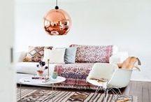 Déco OR   INSPIRATION / Retrouvez plus d'idées déco sur www.maison-facile.com #or #gold #cooper #cuivre #homedecor #deco #design