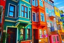Multicolore   INSPIRATION / Voyez le monde en couleurs ! PLus d'idées déco sur www.maison-facile.com