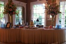Dessert Buffets / Let us design a luxurious dessert buffet for you.