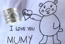 Regalos para mamá - for mom / Ideas de #regalos personalizados de plata para #mamá  #regalos #regalosparamadres #madre #regalospersonalizados #joyasdeplata