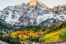 Colorful Colorado / We love our beautiful, colorful state of Colorado. These are some of our favorite places to visit in bustling Boulder County and the wonderful wilderness!
