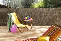 Décoration extérieure   INSPIRATION / Découvrez de nombreuses idées de décoration extérieure.  Retrouvez-nous sur www.maison-facile.com #terrasses #jardins #balcons #décoration #extérieur