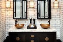 Beautiful Bathrooms / Bathrooms so lovely we find ourselves wanting to take up permanent residence in them!