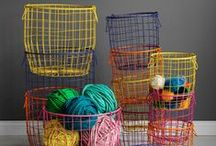 baskets (wire/metal)