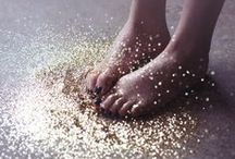 // GLITTERS. / Parce que la vie est pleine de paillettes... #paillette #magie #féérie #girly #glitters