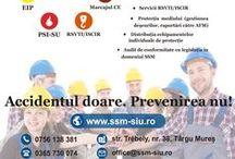 SSM & SIU / S.C. SSM&SIU S.R.L. Accidentul doare. Prevenirea nu! Serviciu abilitat extern de prevenire și protecție www.ssm-siu.ro
