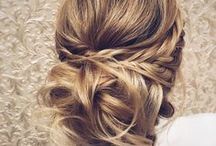 ♡ Lovely Hairstyles ♡ / Hairstyles I would love to wear and which look beautiful. Girly, classy and elegant hairstyles yet simple enough to do.