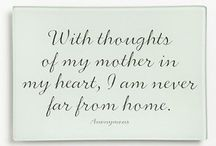 memories of my mother / Loving memories of my Mom ... She is in my heart, my thoughts and my life, always.