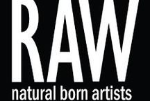 RAW / A selection of art work made by RAW.