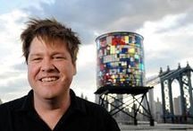 Tom Fruin / A selection of art work made by Tom Fruin