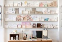 Interiors & postcards / We love creative displays.