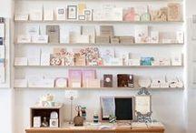 Interiors & postcards / We love creative displays.