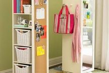 Organize ~ Declutter / Includes 'Life Hacks' / by Nancy Shogren