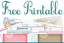 Printables / Free printables / by Gralyne Watkins