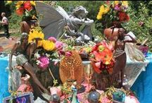 Altars and Sacred Spaces / Bringing beauty and magic to our spiritual practice. Altars, Pagan, Witchraft, spirituality