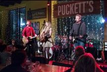 The Puckett's Stage / For more than 10 years music has played an important role at Puckett's. Hundreds of Music City's finest have performed on our stages, here's just a sampling of some of those amazing shows!