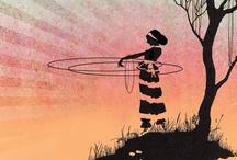 Hoop Hoop Hooray / Hula hooping, hoop dance and other ways to rock da hoop! / by Andrea J Loney