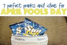 April Fool's Day / I love a good gag gift. Here are some funny April Fool's Day pranks and gags.