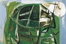 Peter Lanyon / Lanyon's work is central to any assessment of St Ives painting. Lanyon talked about exploring vertiginous edges such as 'the junction of sea and cliff, wind and cliff, the human body and places', and in 1959 began gliding. The work of the early 1950s began to expand into a new flowing style on an increased scale, encouraged by his knowledge of Abstract Expressionism.