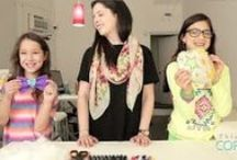 Fun @ Designher Co.! / DIY projects that the girls at camp get to have fun with at DesignHerCo.