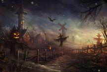 halloween cartoon pictures / by Debbie Retalic