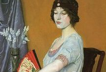 Joseph Southall & William Strang / Two of my favourite artists