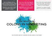 Colors in Branding / Trochę przykładów zastosowania kolorów w budowaniu marki.