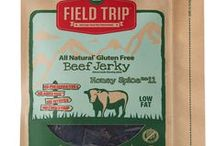 Field Trip Jerky / All natural jerky products, low in fat and carbs, with no added MSG, preservatives, artificial ingredients, or sodium nitrate. https://savorfull.com/brand/field-trip-jerky/