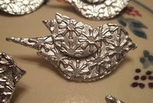 Embellishments / hand made embellishments for cards and scrapbooking