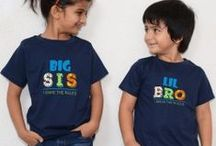 Combo Tshirts for Brother & Sisters / Combo Tshirts / by mybabycart.com