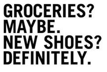 To walk on... / shoes and more shoes...