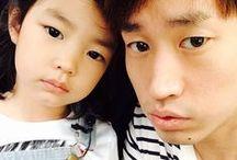 The Return of Superman... / South Korean reality show and their cute babies: Haru, Sarang, Jion, Manse, Daehan and Miinguk...