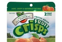 Brothers All Natural / A brand of freeze dried fruit snacks made from 100% real fruit. All natural with no added sugars or preservatives; gluten and allergy free.  https://savorfull.com/brand/brothers-all-natural/