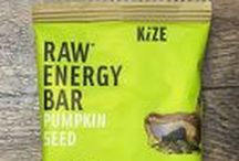 Kize Concepts / Nutrient-rich energy bars made with real ingredients. Gluten-free, non-GMO, high in protein, and low in ingredients!  https://savorfull.com/brand/kize-concepts/