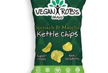Rob's Brands / Chips and popcorn made from non-GMO kernels topped with natural ingredients making this treat full of fiber, antioxidants, and whole grains. https://savorfull.com/brand/robs-brands/
