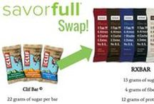RXBAR / Simple and delicious protein bars made from egg whites, nuts, and fruits. Each flavor is 100% natural!  https://savorfull.com/brand/rxbar/