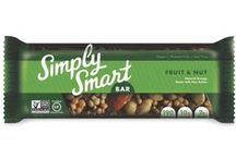 Simply Smart Bar / Vegan, gluten-free, non-GMO protein bars that are filling and simply made up of nuts, seeds, and fruits. https://savorfull.com/brand/simply-smart-bar/